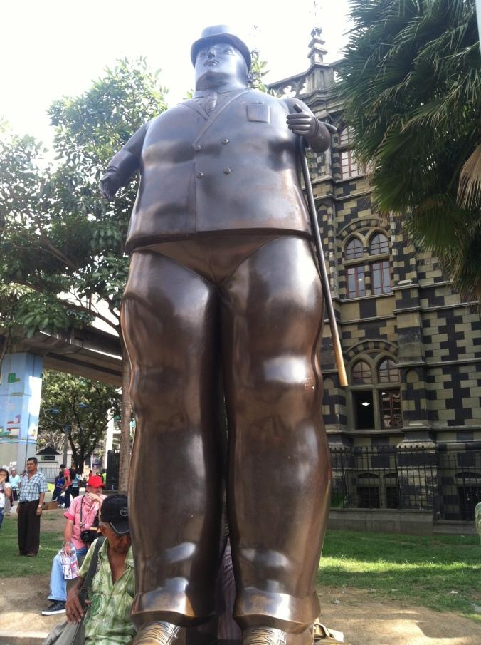 Botero is larger than life. Bienvenidos a Medellin!
