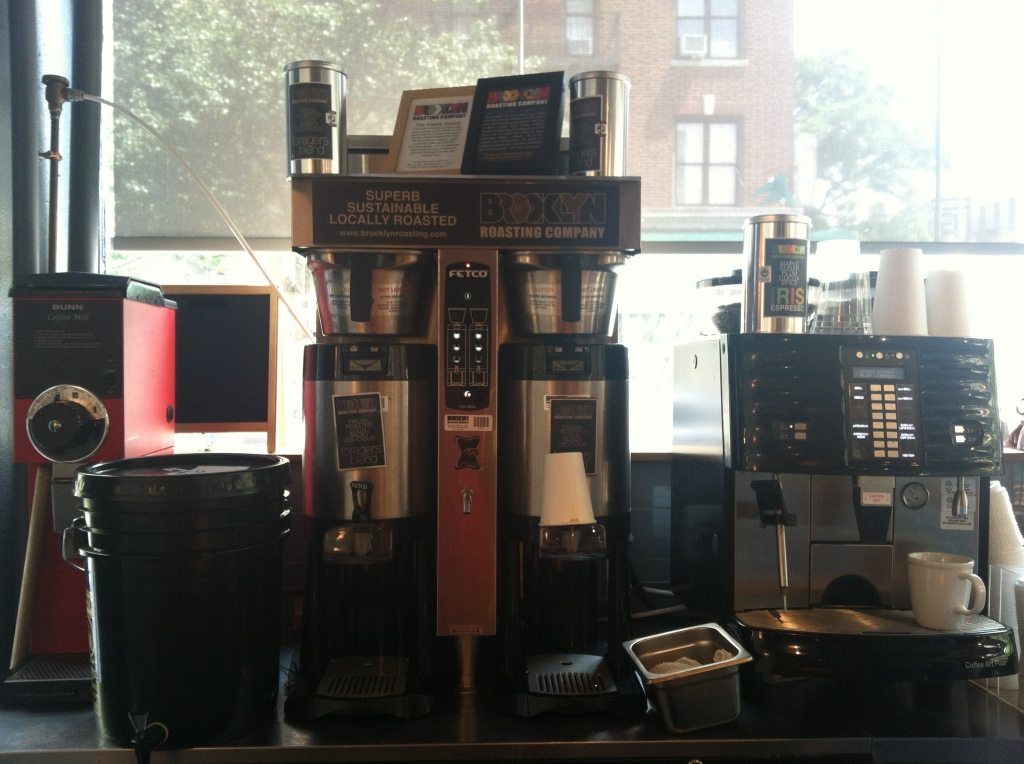 Coffee making equipment. Can we think about this stuff and the lives of growers at the same time?