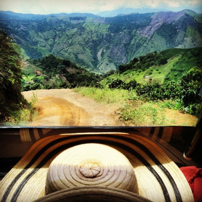 """""""sombrero costeño"""" and vistas of coffee"""