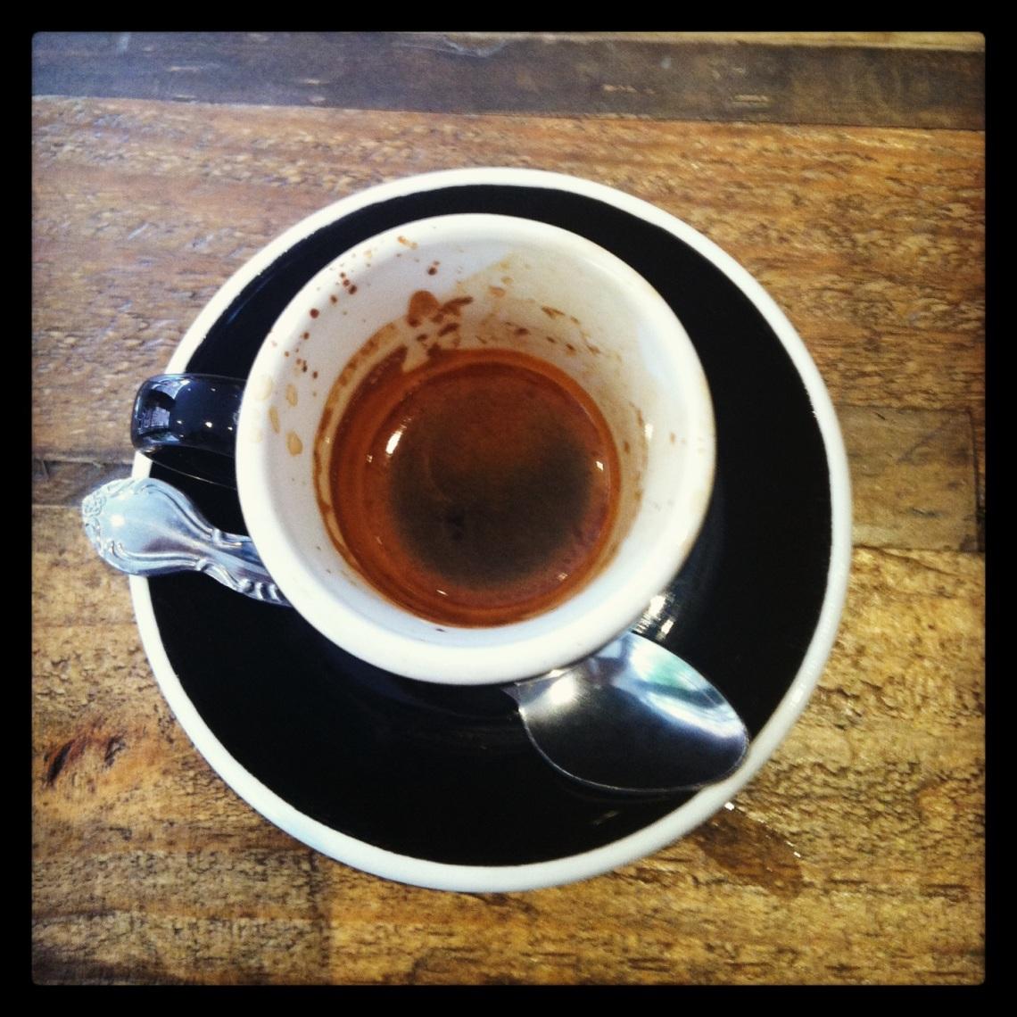 Good coffee.