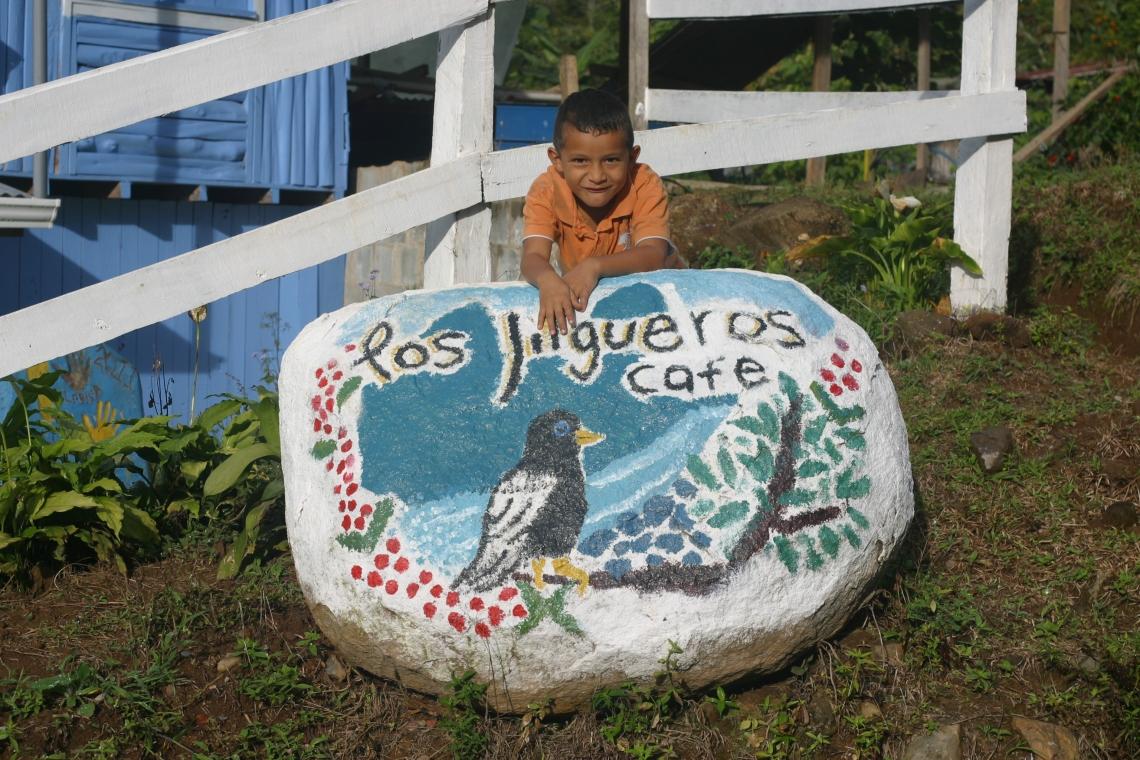 Alejandro outside the Jilgueros micromill in Cedral