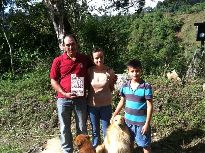 Foilan, Hania, Carlos (and Peter) in Cedral