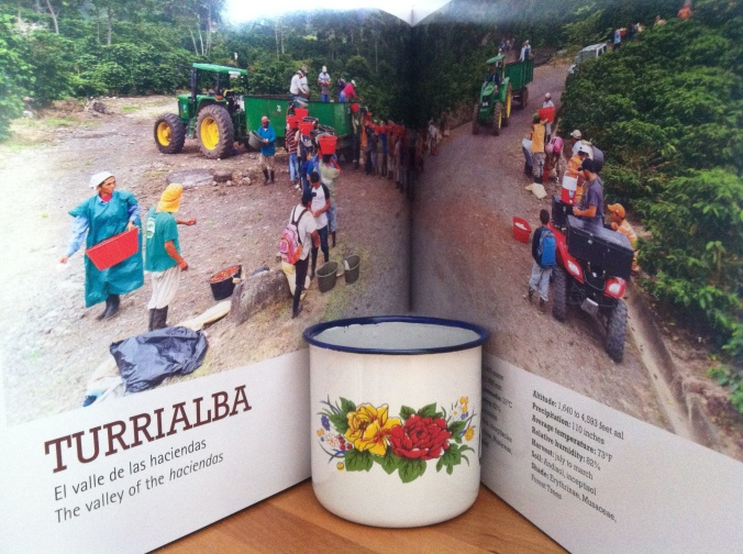Turrialba (p. 112) one of Costa Rica's 8 unique coffee growing regions