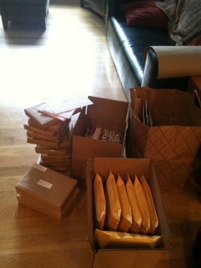 Kickstarter mailing in progress