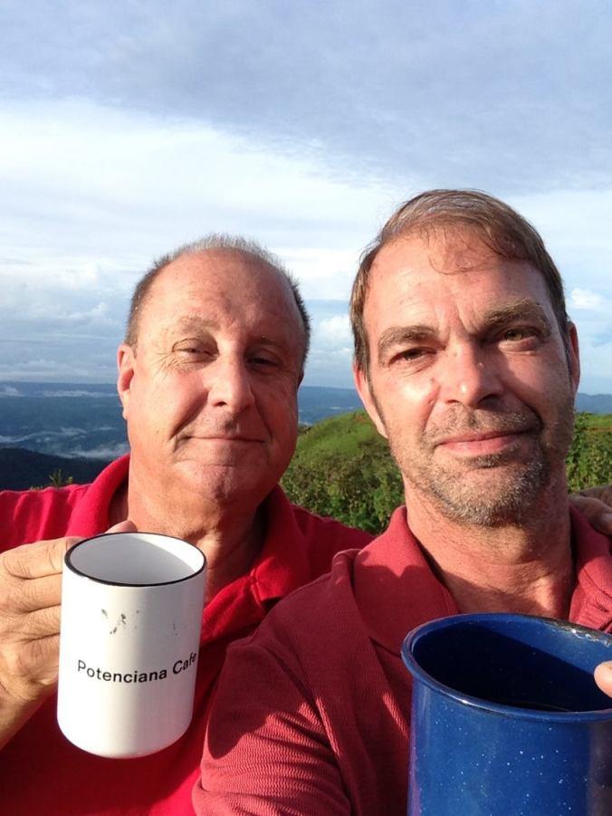Drinking coffee in heaven