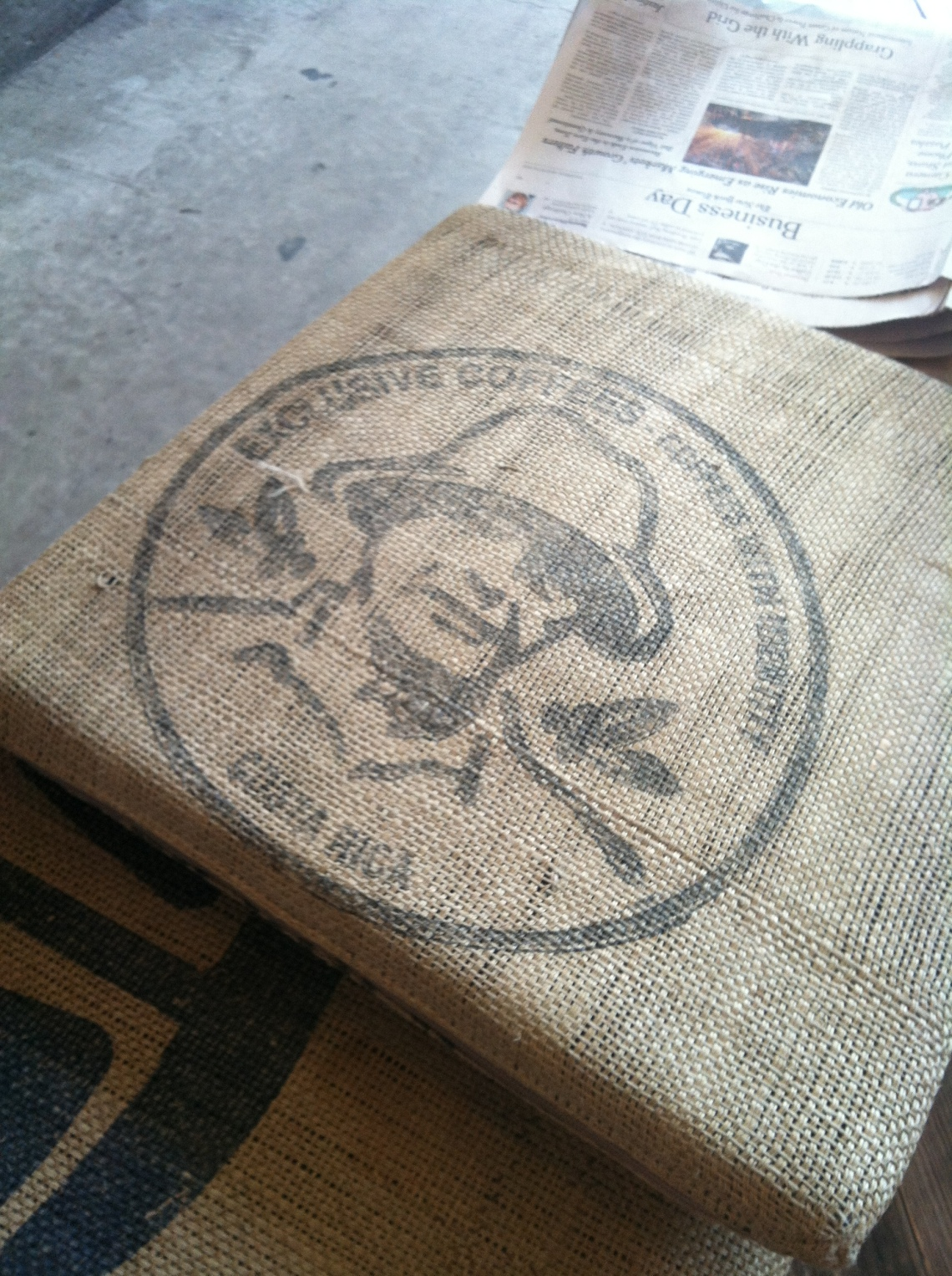 Sack from Exclusive Coffee of Costa Rica