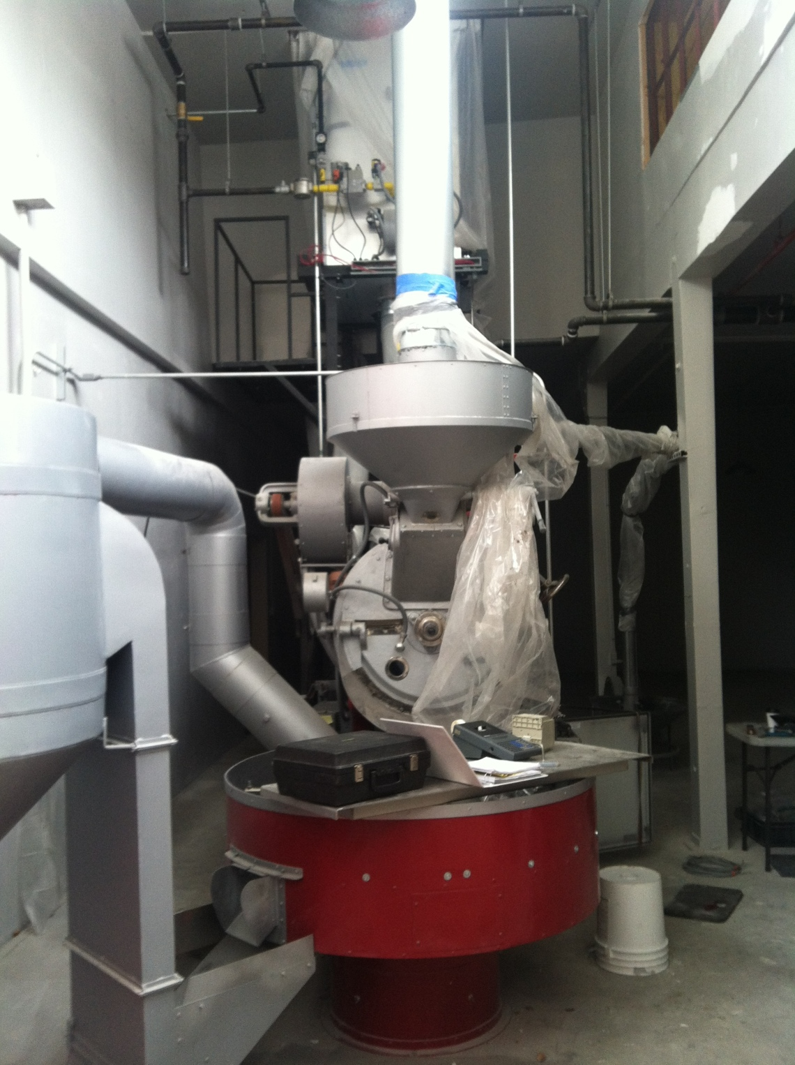 45 kg Probat coffee roaster (aka Beany the Transformer)