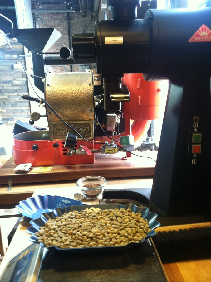 Panama in the roaster, Costa Rica on deck