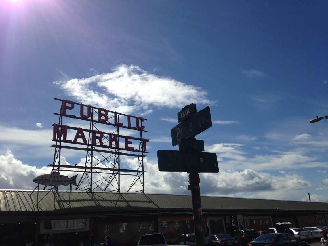 Pike Place Market and Pine