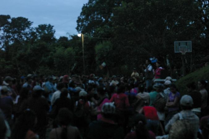 Early morning at Ramacafe estates in Matagapla, Nicaragua