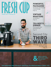 Fresh Cup August 2014