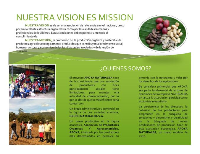 APOYA's Mission and Vision
