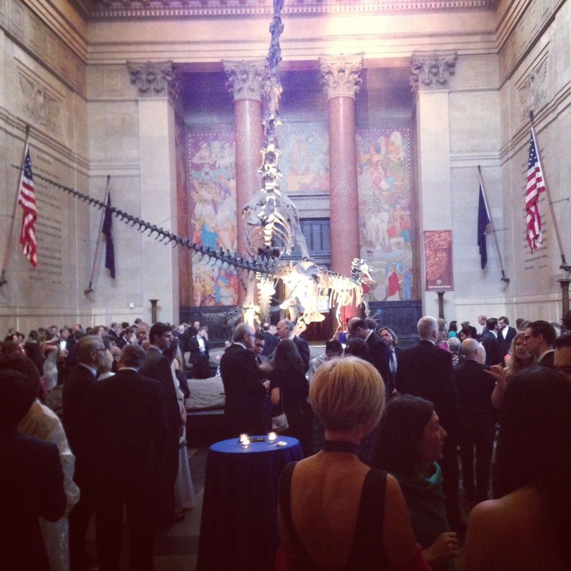 Rainforest Alliance Gala Reception at New York's Metropolitan Museum of Art foyer