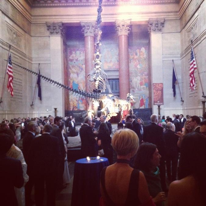 Rainforest Alliance Gala Reception at New York's Metropolitan Museum of Art foyer
