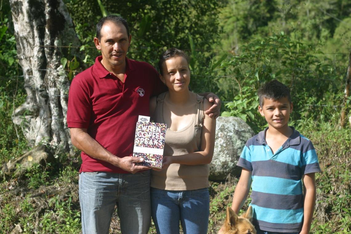 Froilan, Hania, and their son Carlos