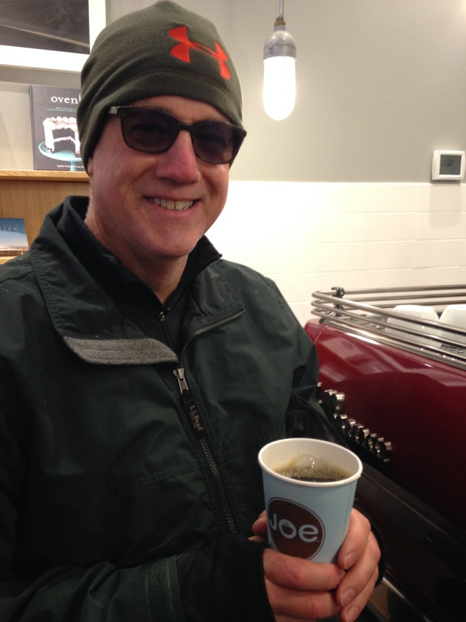 Straight black coffee from Joe on the UWS after the Macy's Day Parade. Learning curve, owned!