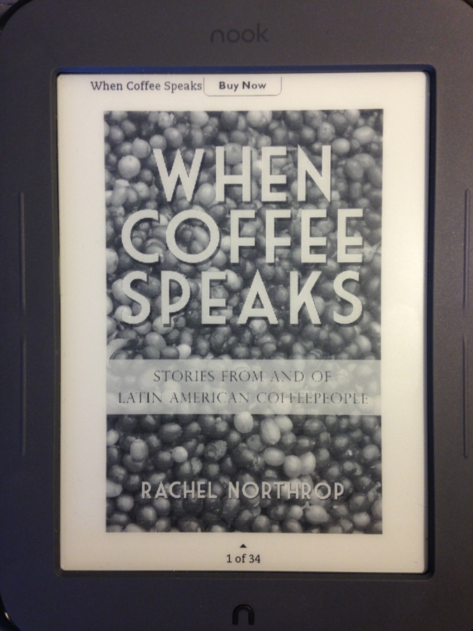 When Coffee Speaks has gone digital! All 436 pages now fit in the palm of your hand. #socool
